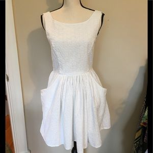 Jack Wills 🇬🇧 white eyelet lace dress